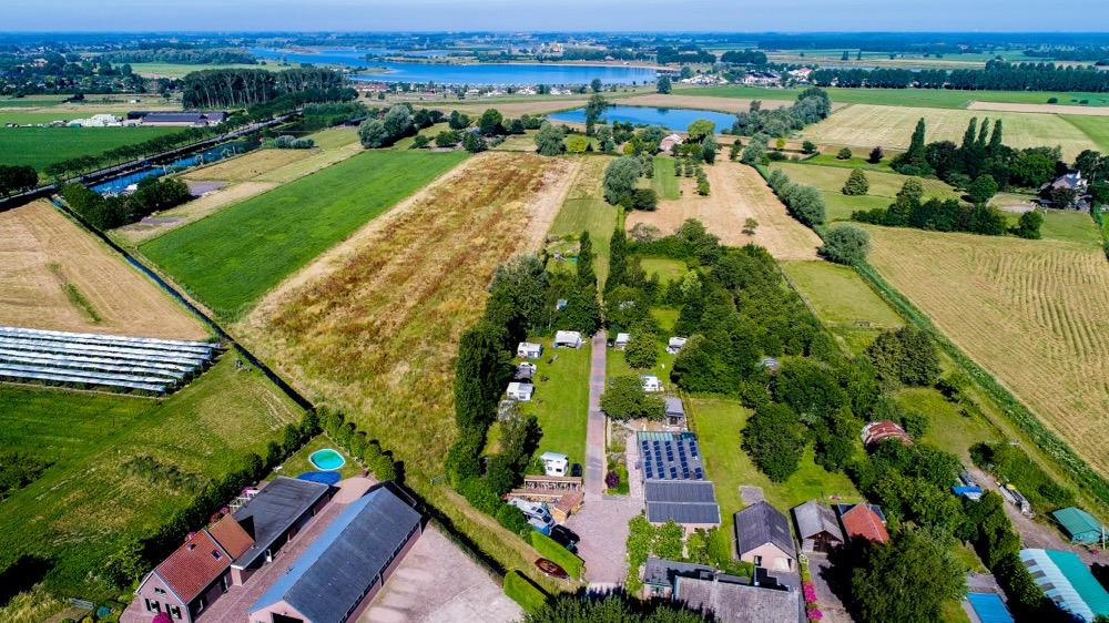 Mini Camping Het Wielseveld Betuwe Drone 006
