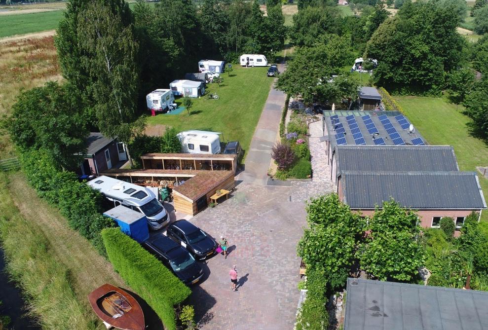 Mini Camping Het Wielseveld Betuwe Drone 009