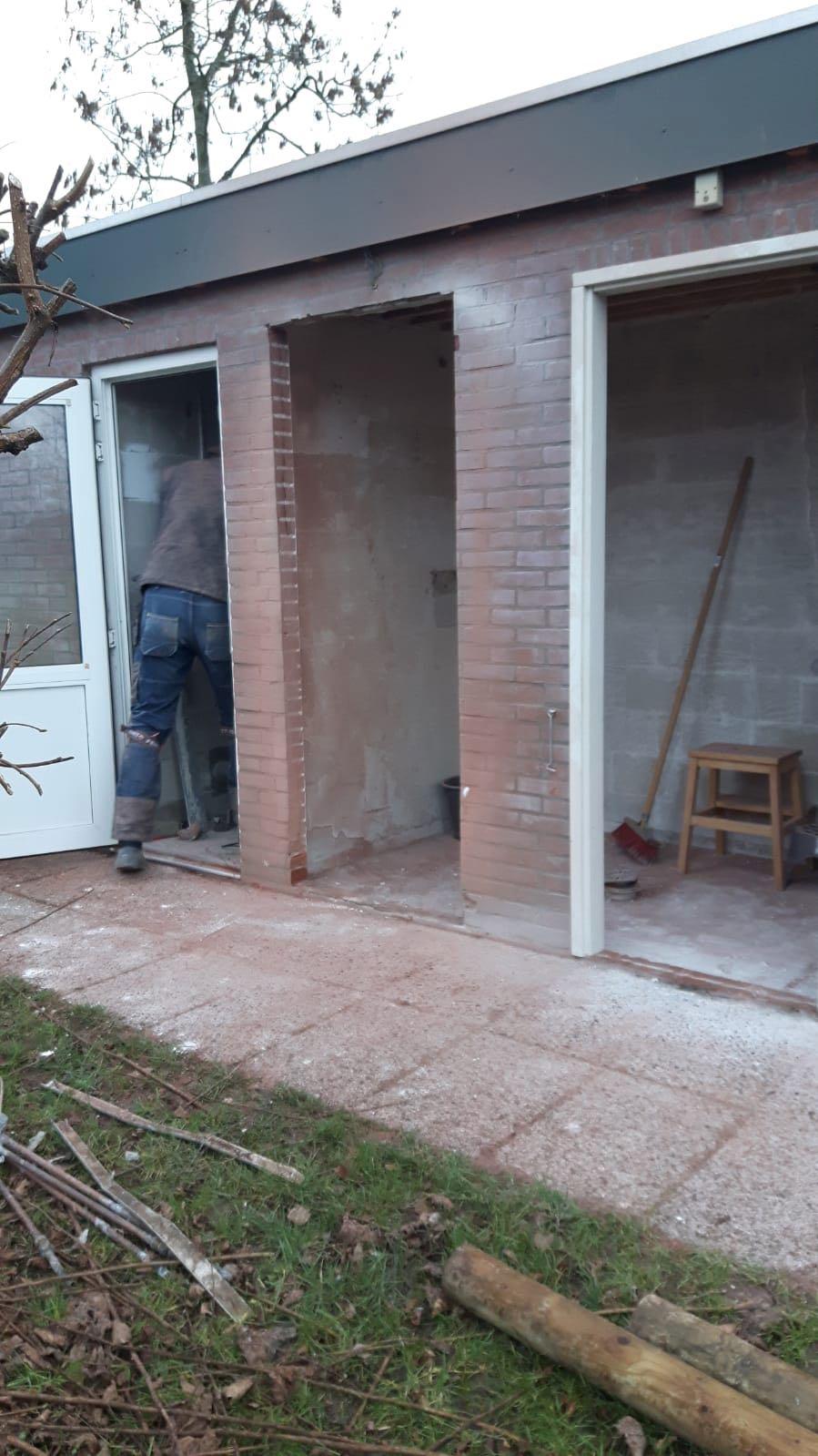 Sanitair tijdens de verbouwing