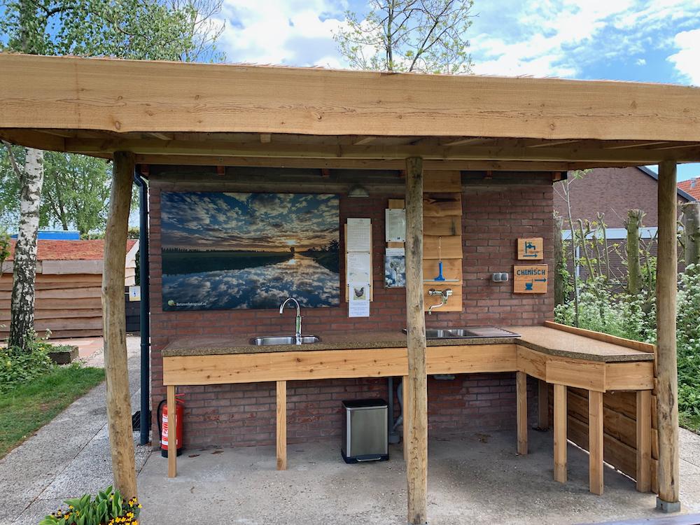 Mini Camping Het Wielseveld Betuwe Nieuws sanitair vlinder